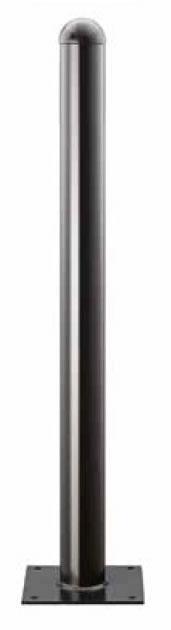 Aluminium-Stilsperrpfosten | Ø 76 mm x 900 mm