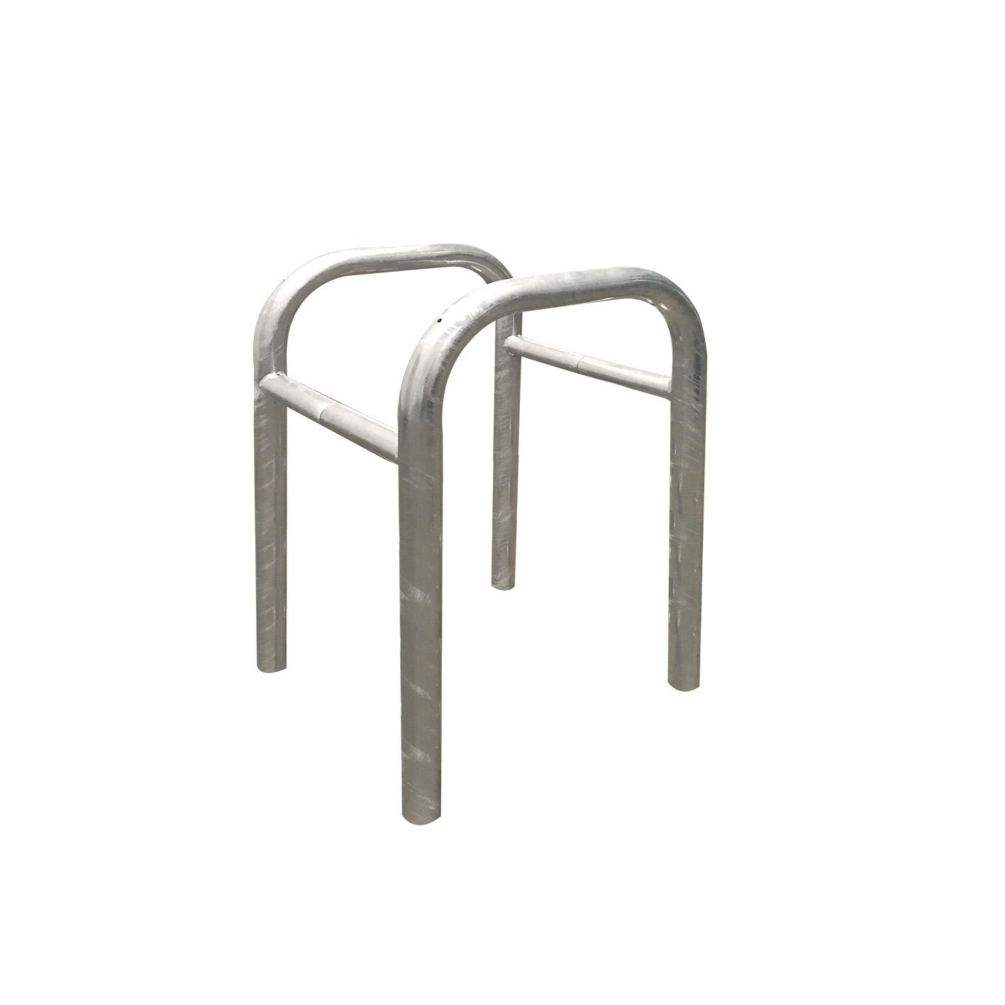 Abweisebügel, Stahlrohr Ø 60    0,4 m bis 2,5 x 1 m  bis 1,4 m