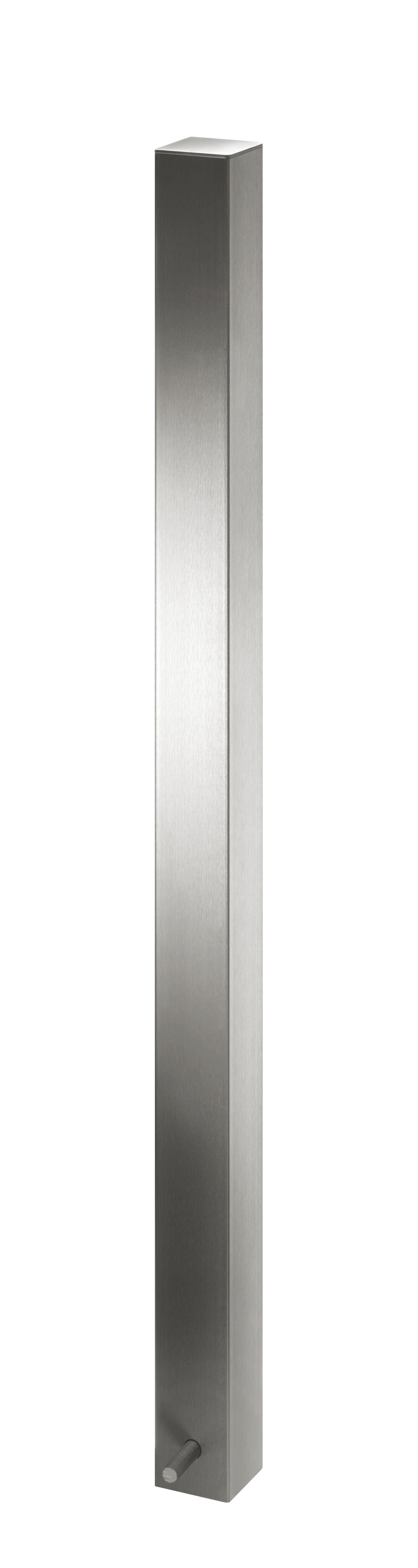 Absperrpfosten | 70 x 70 mm x 900 mm aus Edelstahl
