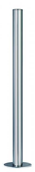 Absperrpfosten aus Edelstahl Ø 61 mm