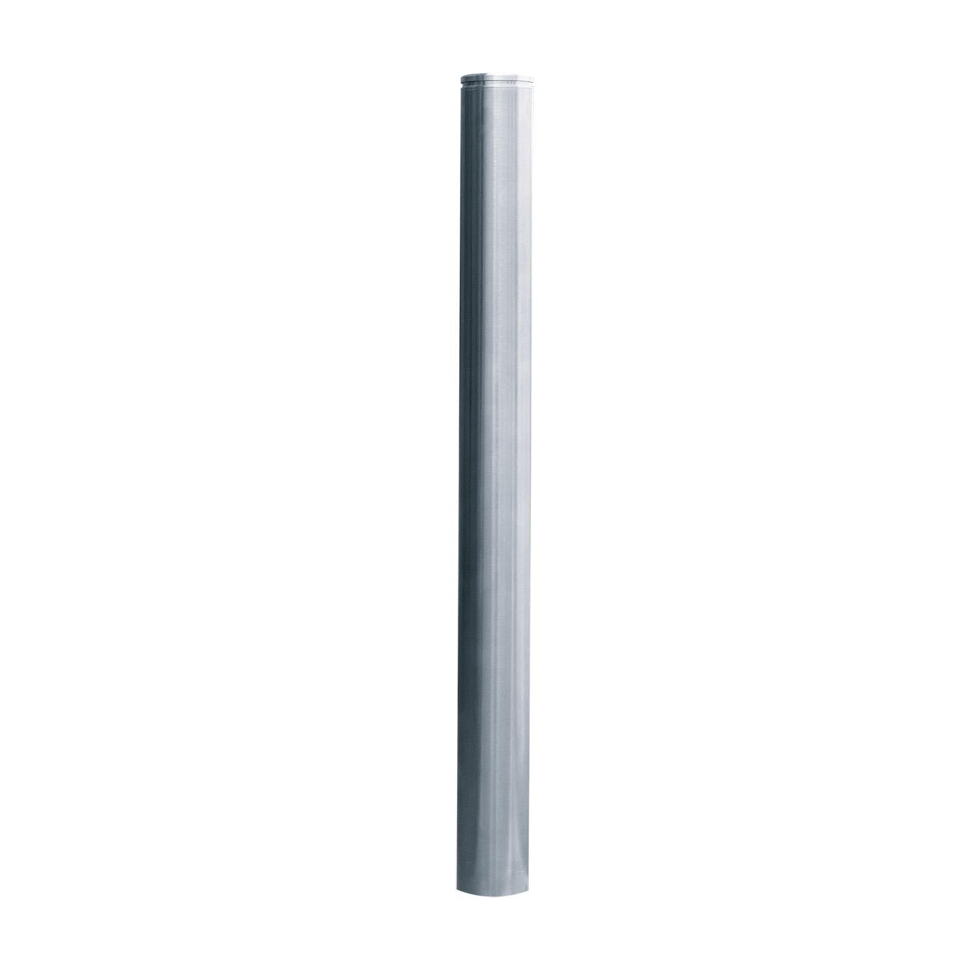 Edelstahlpfosten 4272 |  Ø 76 x 900 mm