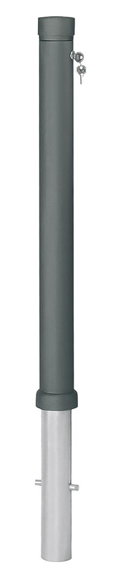 Stil-Pfosten Aluguss | Ø 80 mm x 900 mm | herausnehmbar
