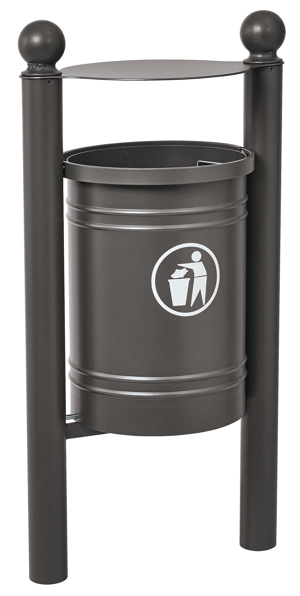 Abfallkorb Santiago 40 Liter