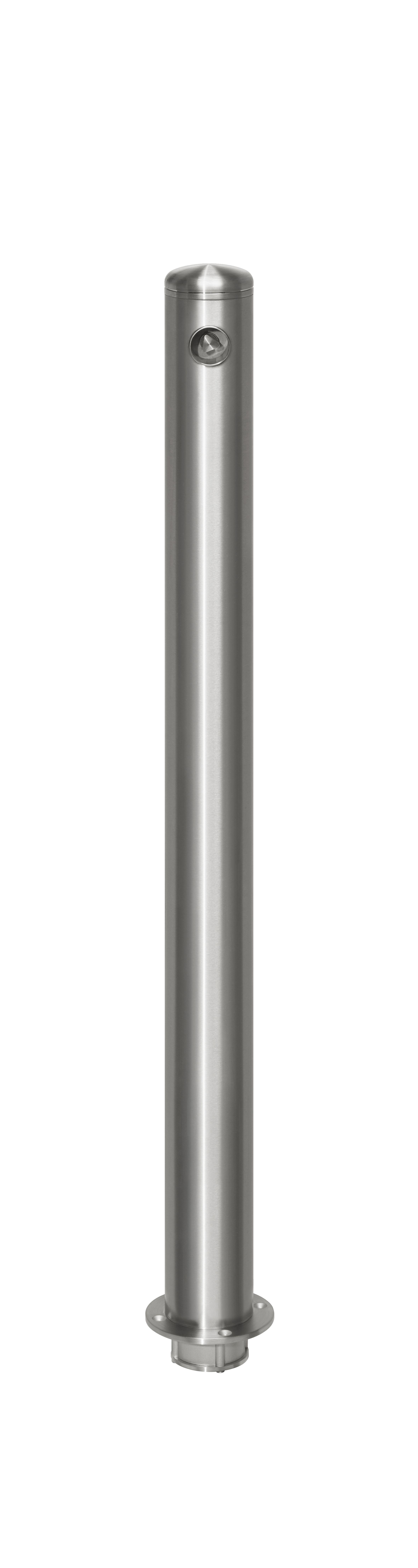 Absperrpfosten Ø 76 mm Edelstahl Easy-Twist