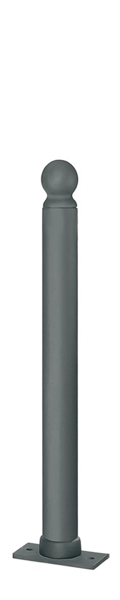 Royal-Pfosten Aluguss | Ø 80 mm x 900 mm