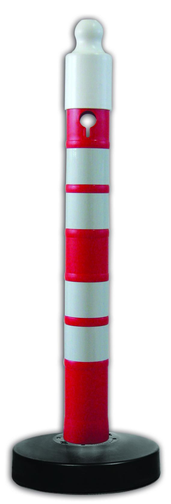 Ketten-Absperrpfosten Mega-Max   Länge 1.200 mm