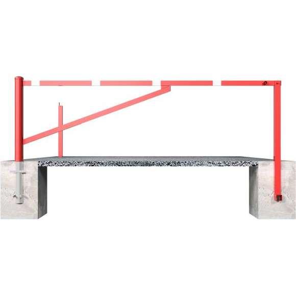 Drehschranke | 2,5 bis 4,5 m x 950 mm