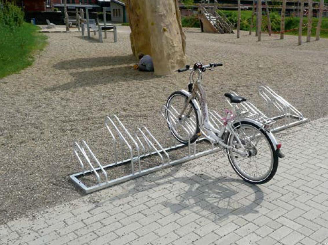 Fahrradständer 420 | für 3 bis 12 Einstellplätze