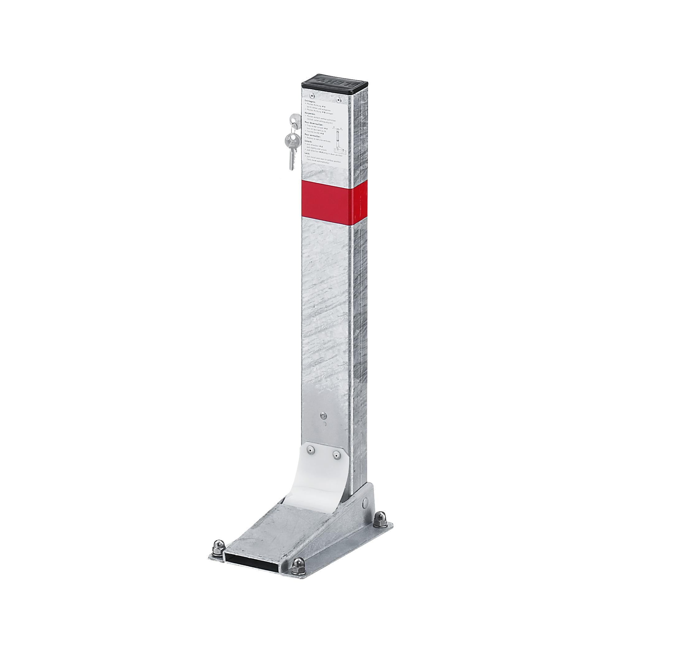 Sperrbügel flexibel   40 x 80 mm x 600 mm
