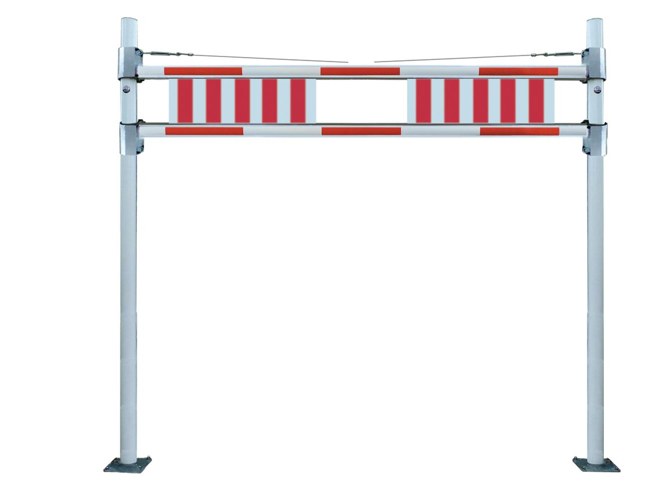 Höhenbegrenzung starr und verstellbar bis 3,8 m