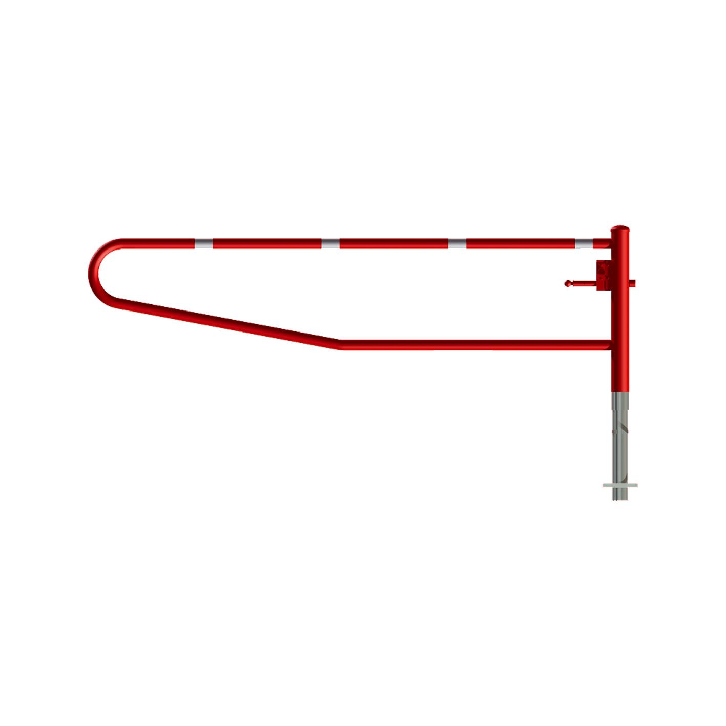 Gatterschranke drehbar | 1,5 bis 3,5 m x 950 mm