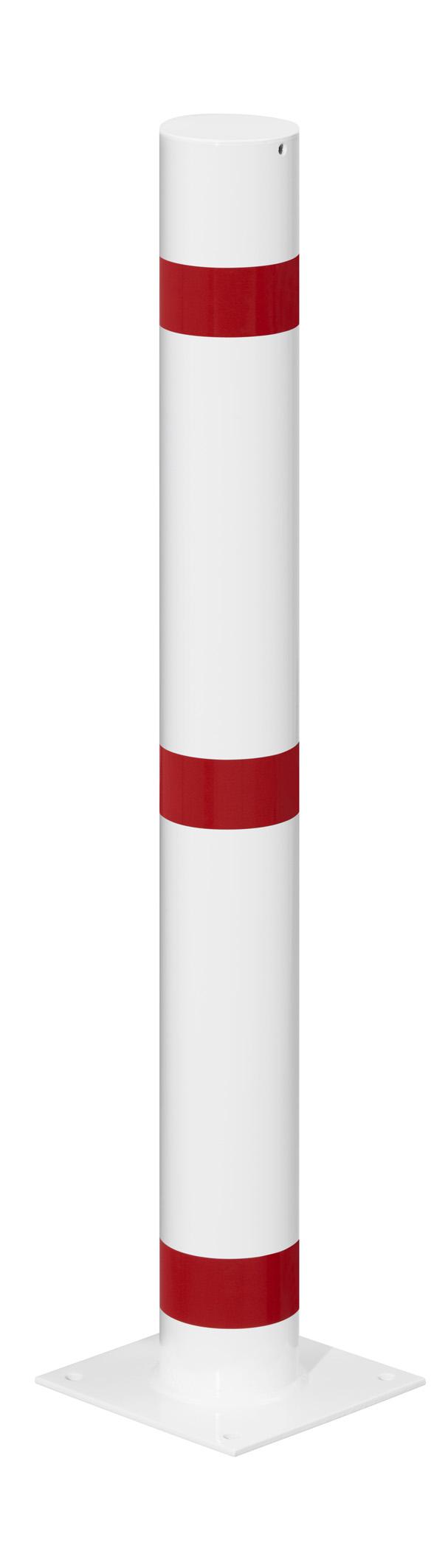 Absperrpfosten Ø 102 mm aus Stahl
