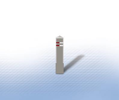 Diamond schwarz oder granite | Flexibel - Gummi - Biegsam | 760 mm