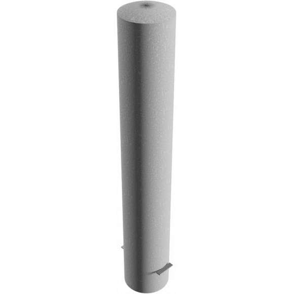 Absperrpfosten  40190 | Ø193 mm x 1.200 mm zum Einbetonieren