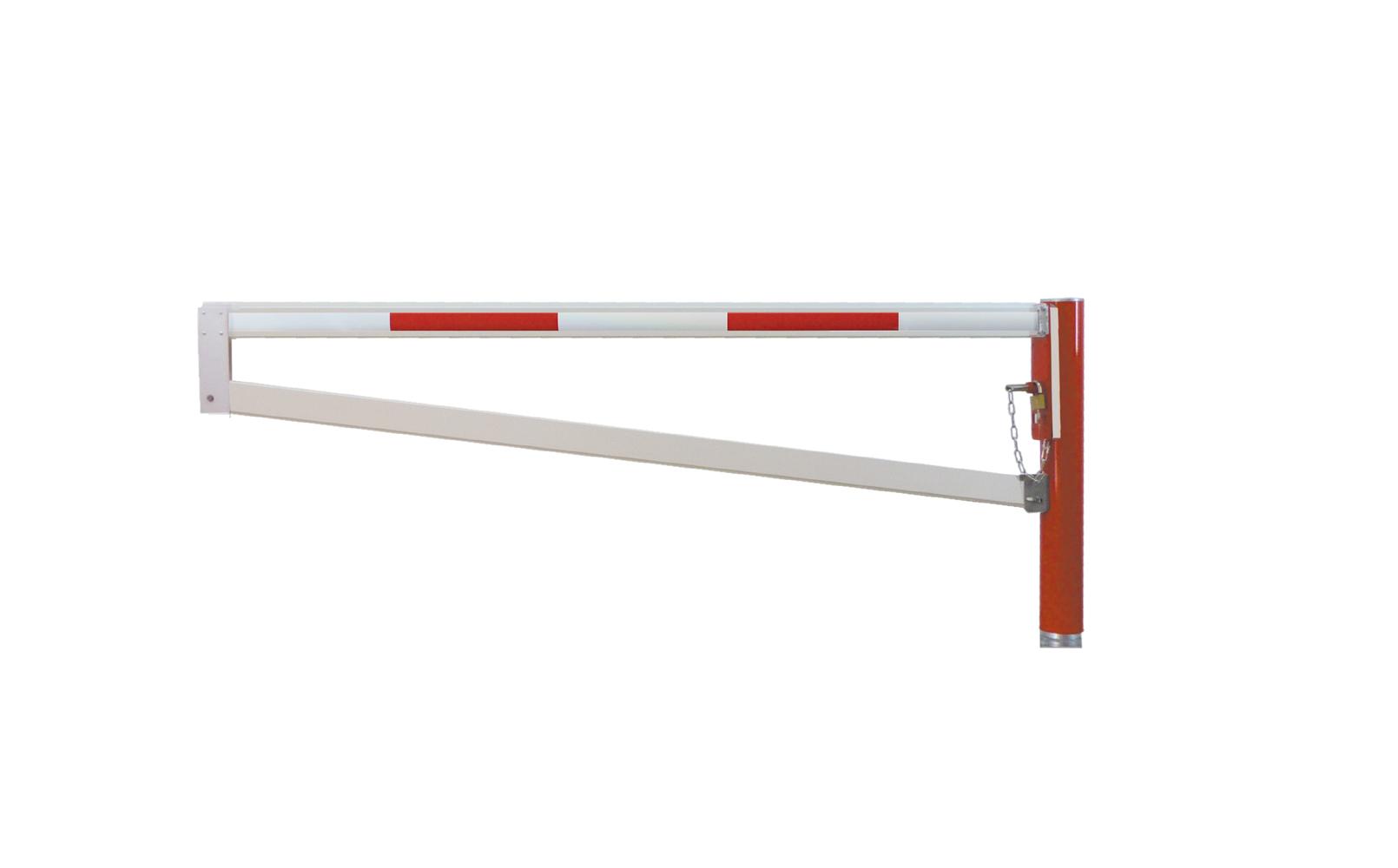 Drehsperre mit trapezförmigen Aluminium-Sperrbügel