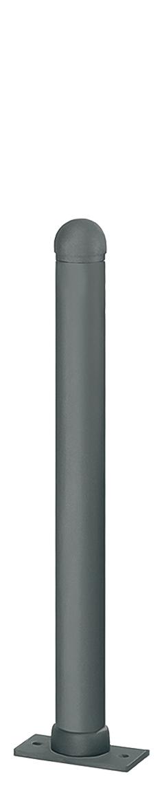 Harmonie-Pfosten Aluguss | Ø 80 mm x 900 mm, heraushebbar, zum Einbetonieren mit Bodenhülse