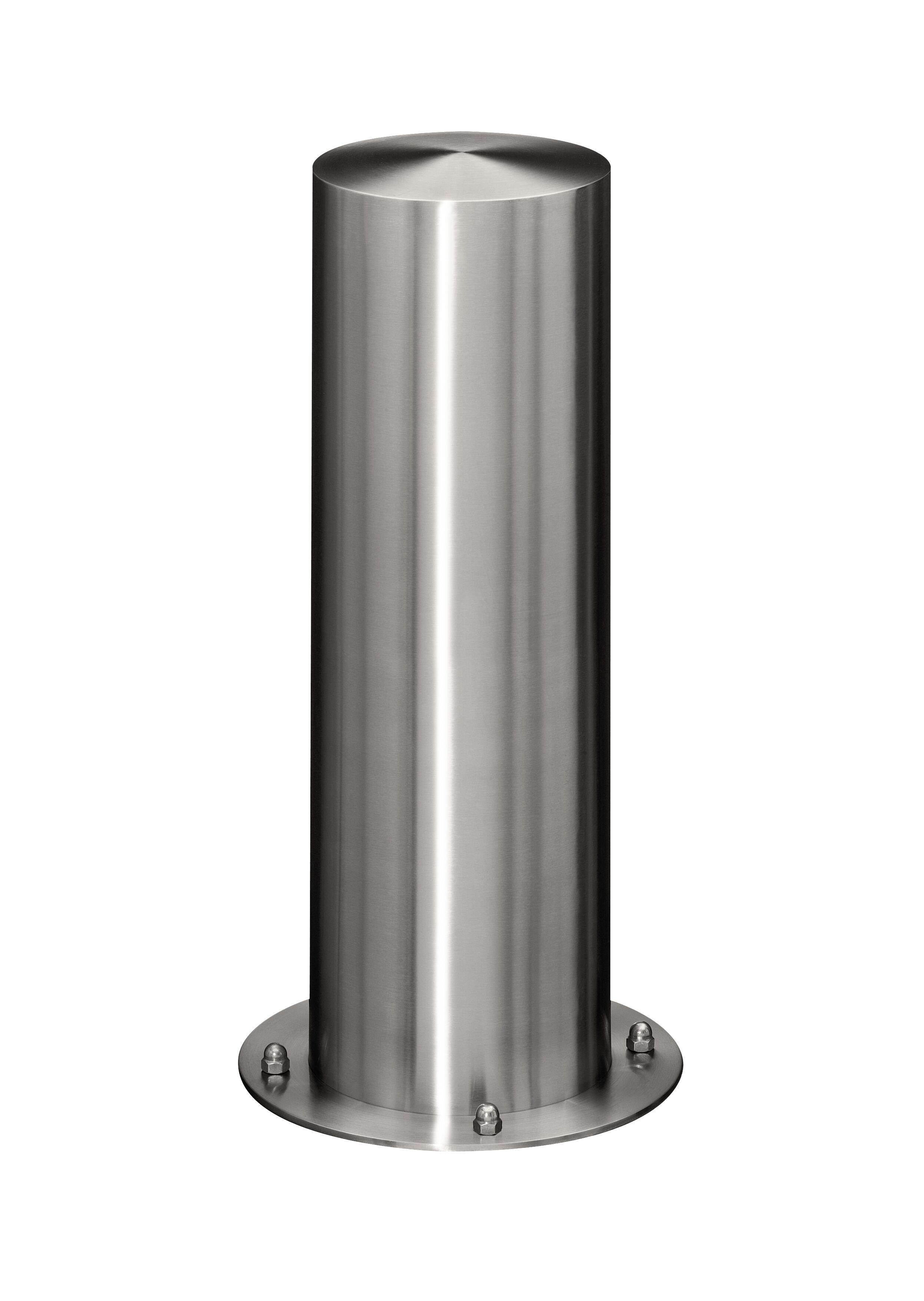 Absperrpfosten aus Edelstahl | Ø 205 mm x 600 mm