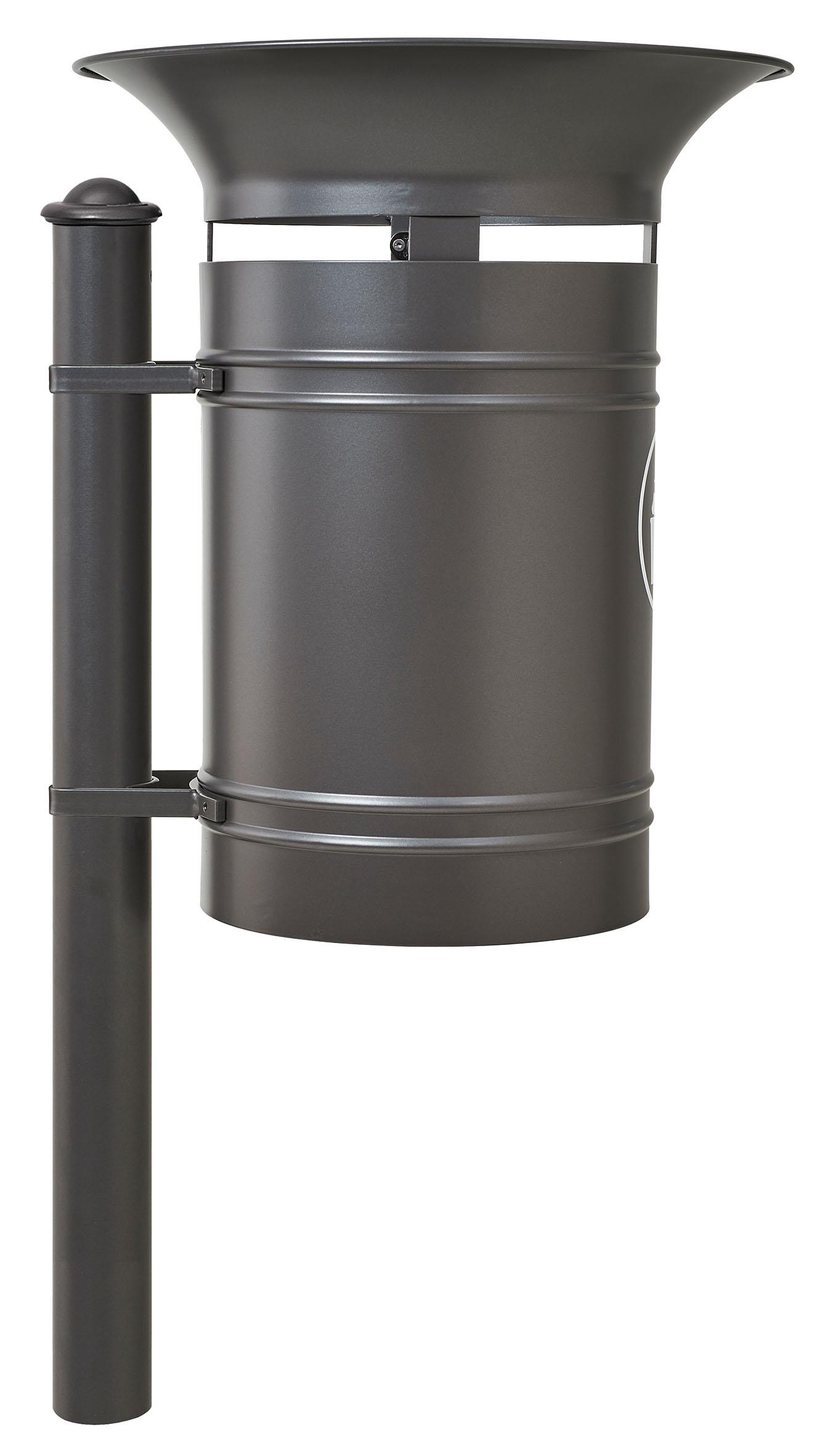 Abfallkorb Valencia 40 Liter