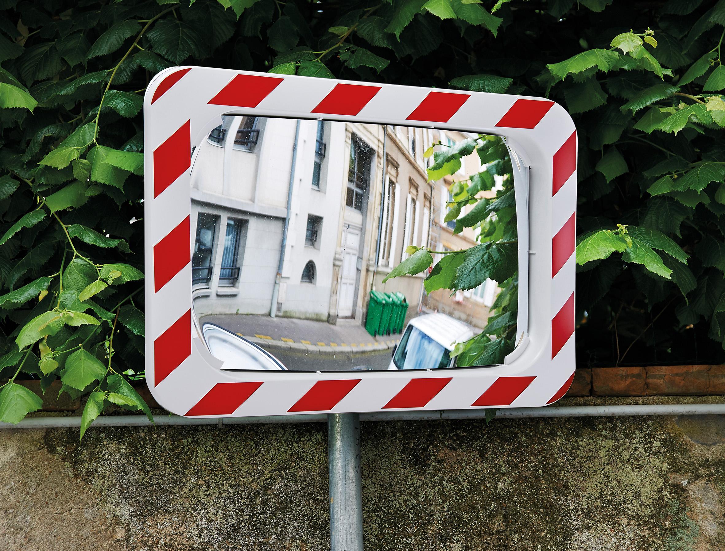 Verkehrsspiegel | 2 Rchtungen | Für den Außenbereich