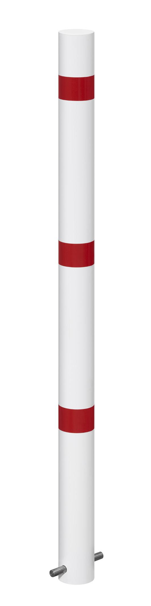 Absperrpfosten Ø 61 mm aus Stahl