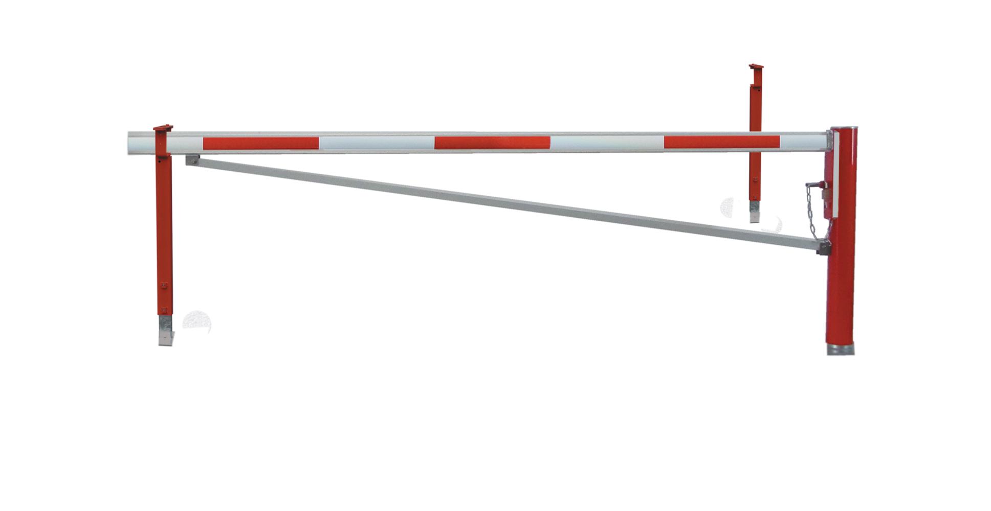 Drehsperre | 2 Auflagepfosten und Diagonalstrebe