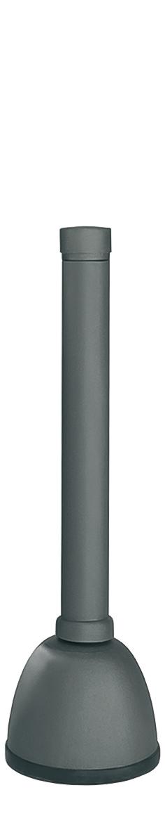 Stil-Pfosten Aluguss   Ø 80 mm x 900 mm   herausnehmbar