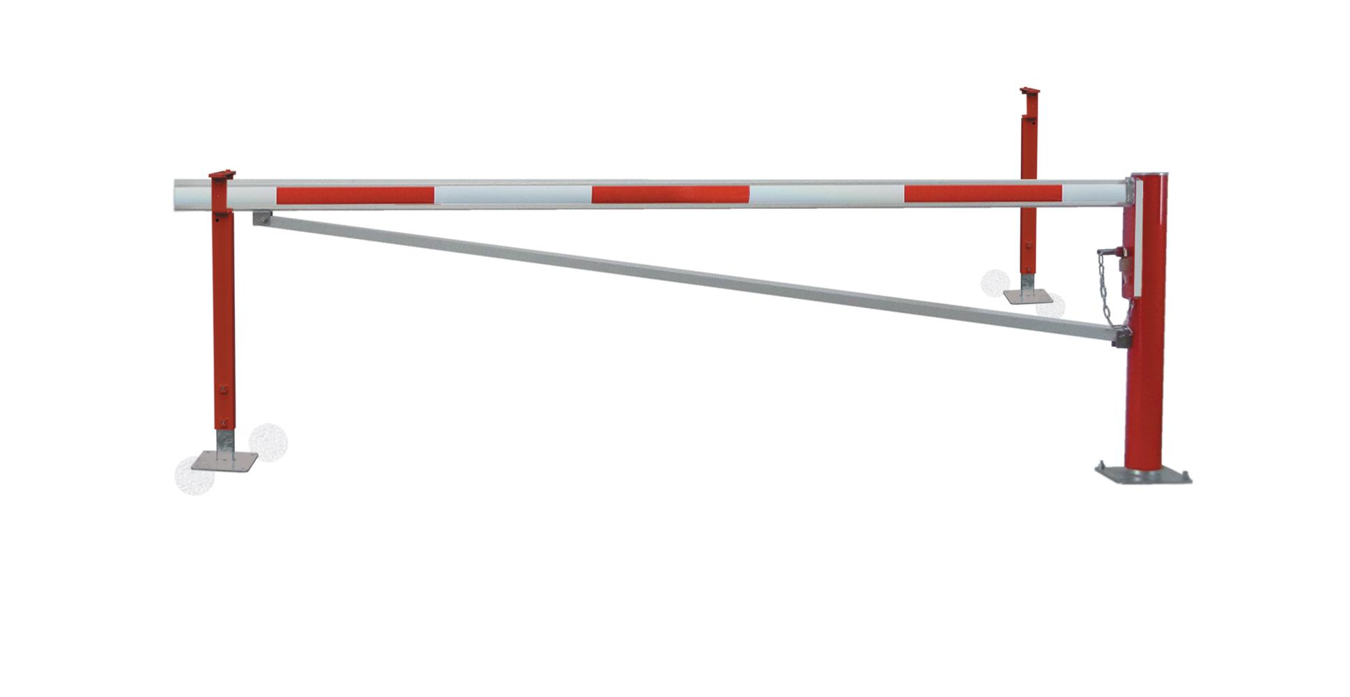 Drehsperre mit 2 Auflagepfosten und Diagonalstrebe